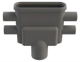 Viemärikaivo 1414 pysty 75 mm vesilukolla Unidrain