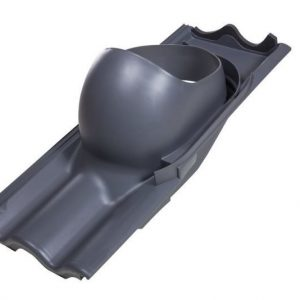XL tiilikaton läpivienti VILPE Harmaa