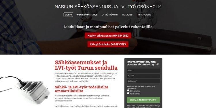 LVI-Työ Grönholm